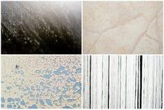 Mixed textures set Stock Photography