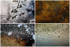 Mixed textures set Stock Image