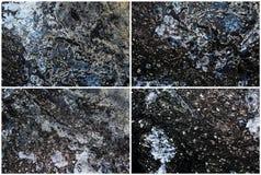 Mixed textures set Royalty Free Stock Photo