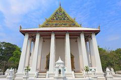 Thai chinese styled temple Royalty Free Stock Images