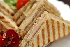 Mixed toast sandwich Stock Photography