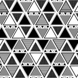 Mixed Triangle pattern Royalty Free Stock Image