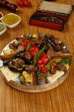 Mixed Turkish kebab Royalty Free Stock Photography