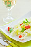Mixed vegatabele salad Royalty Free Stock Photography