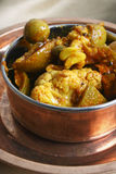 A mixed vegetable pickle from India Royalty Free Stock Photo