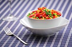 Mixed vegetable salad Stock Photos