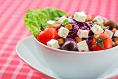 Mixed vegetable salad Stock Photo