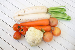 mixed vegetable Royalty Free Stock Photography