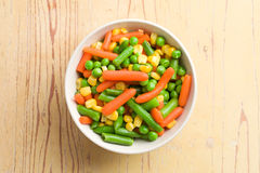Mixed vegetables Royalty Free Stock Images