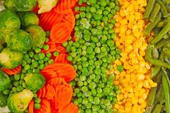 Mixed vegetables background Stock Photography