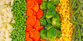 Mixed vegetables background Stock Image