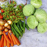 Mixed vegetables Stock Image