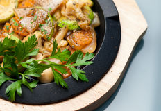 Mixed Vegetables Casserole Royalty Free Stock Photo