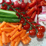 Mixed Vegetables Royalty Free Stock Image