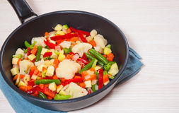 Mixed vegetables Royalty Free Stock Photo