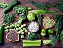 Mixed vegetables, legumes Stock Photos