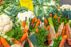 Mixed vegetables for sale Royalty Free Stock Image