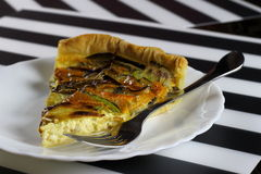 Mixed vegetables savory pie Royalty Free Stock Photography