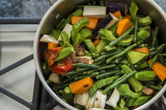 Mixed veggie Pinakbet Royalty Free Stock Image
