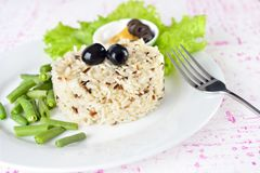 Mixed wild Rice Stock Photography