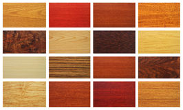Mixed wood textures Royalty Free Stock Photos