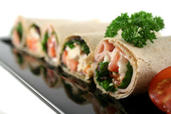 Mixed Wrap Platter 3 Royalty Free Stock Image