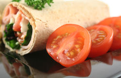 Mixed Wrap Platter 5 Stock Photos