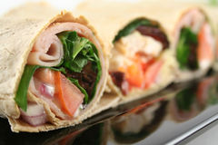 Mixed Wrap Platter 6 Royalty Free Stock Photo