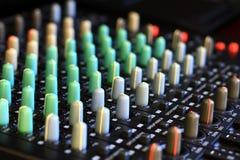 Mixer 1 van de muziek stock foto