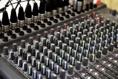 Mixer Royalty Free Stock Images