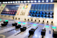 Mixer audio Royalty Free Stock Image