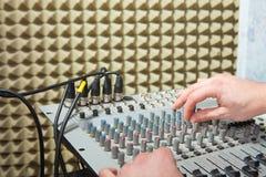 Mixer board Stock Photos