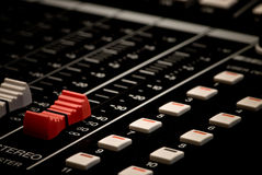 Mixer Board Stock Images
