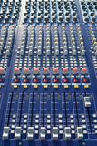 Mixer console Stock Images