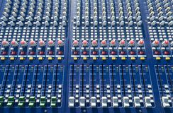 Mixer console Stock Photography