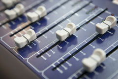 Mixer console Stock Photos
