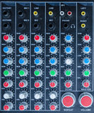 Mixer control Stock Images