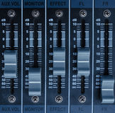Mixer control Royalty Free Stock Images
