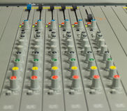Mixer control Royalty Free Stock Photography