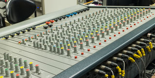 Mixer control Royalty Free Stock Image