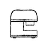 Mixer food appliance line. Illustration eps 10 Stock Photos