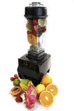 Mixer with fruits Royalty Free Stock Photos