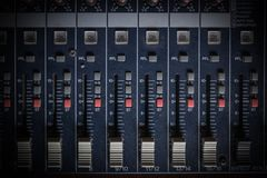 Mixer background or texture Stock Photography