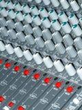 Mixer panel Stock Photography
