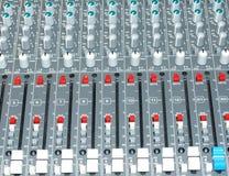 Mixer panel Stock Photos
