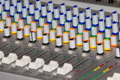 Mixer pult Royalty Free Stock Photography