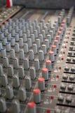 mixer sound Στοκ φωτογραφία με δικαίωμα ελεύθερης χρήσης
