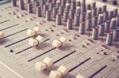 Mixer Sound Royalty Free Stock Photo