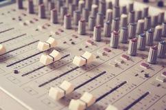 Mixer Sound Royalty Free Stock Photo