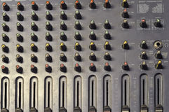 Mixer soundboard Stock Images